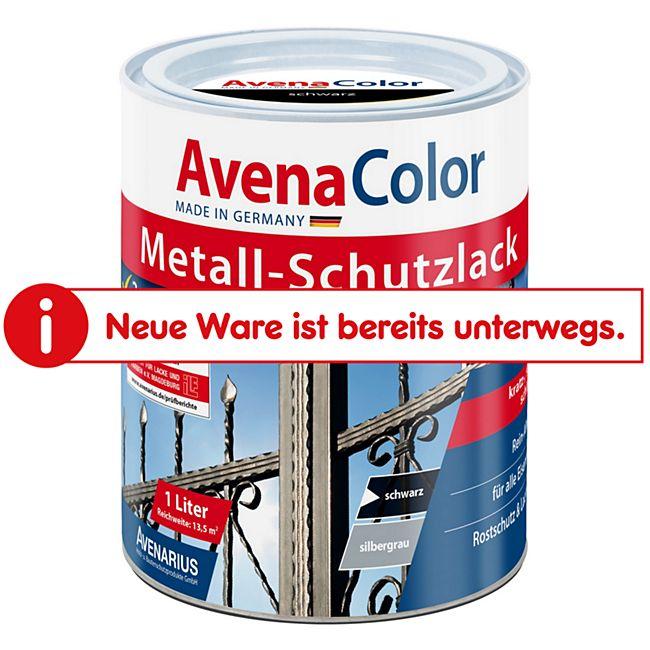 Avena Color Metallschutzlack schwarz - Bild 1