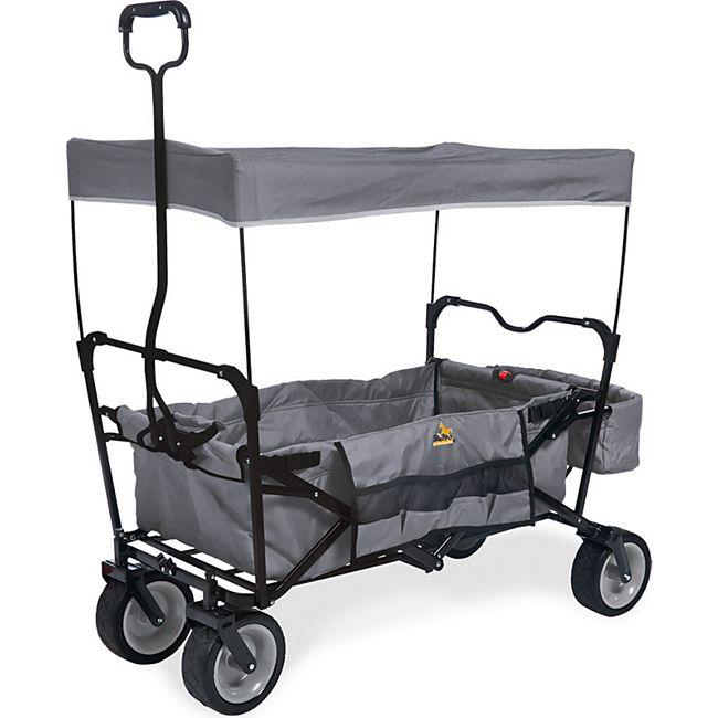 Pinolino Klappbollerwagen 'Paxi' grau - Bild 1