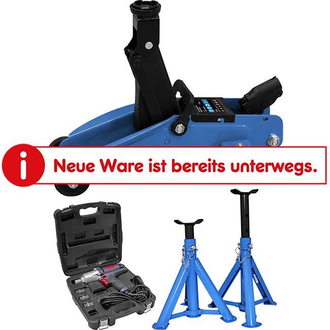 Güde Reifenwechsel-Set inkl. Wagenheber, Schlagschrauber und Unterstellböcke - Bild 1