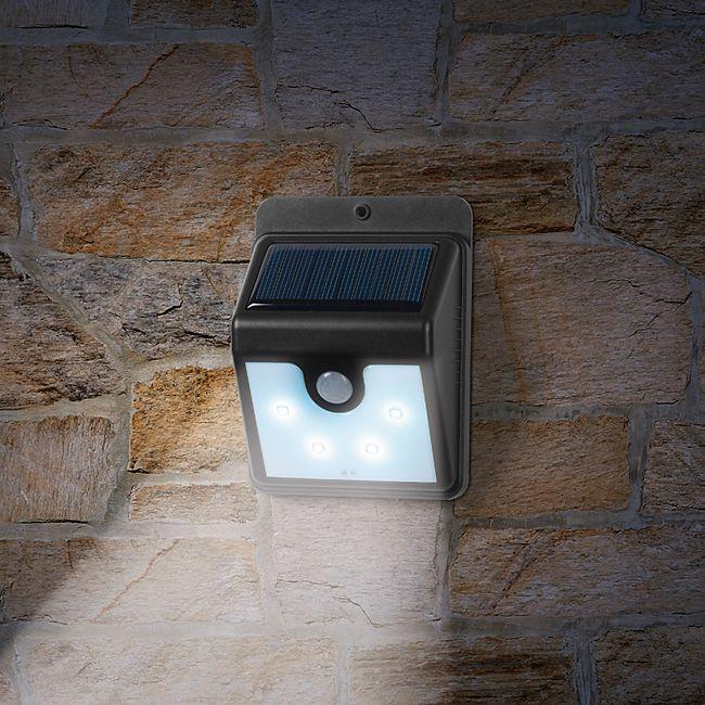 EASYmaxx LED-Solar-Wandleuchte - Bild 1