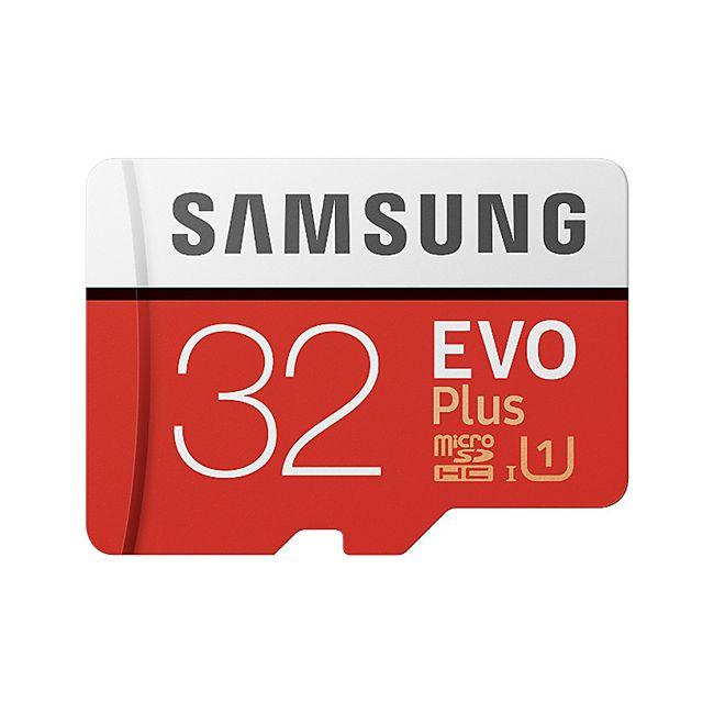Samsung MB-MC32GA/EU EVO Plus microSD Karte (SD Adapter) - 32 GB - Bild 1