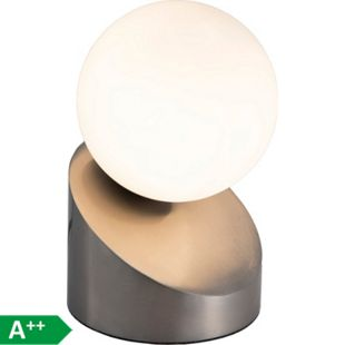 Nino Leuchten Tischleuchte Alisa, Nickel matt - Bild 1