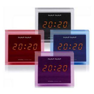 NafNaf Crystal Uhrenradio - blau - Bild 1