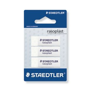 Staedtler Schulmaterialien - Rasoplast Radierer 3St. - Bild 1