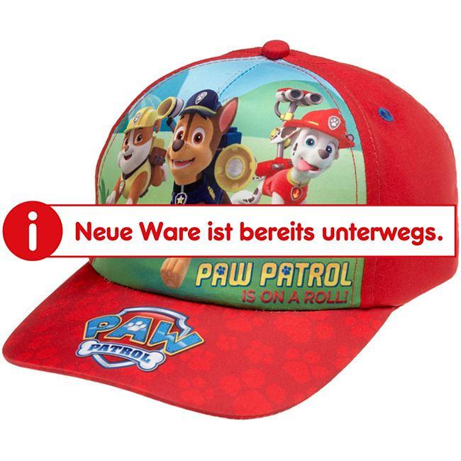 Kinder Caps - Paw Patrol rot - Bild 1