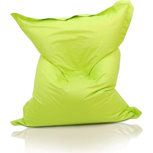 KINZLER Riesen-Sitzsack, 320 Liter, outdoorfähig in apfelgrün - Bild 1