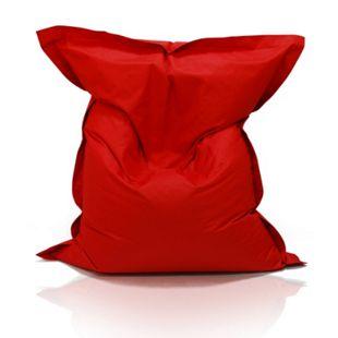KINZLER Riesen-Sitzsack, 320 Liter, outdoorfähig in rot - Bild 1