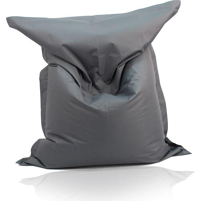 KINZLER Riesen-Sitzsack, 320 Liter, outdoorfähig in anthrazit - Bild 1