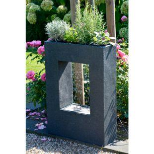 Dobar 96110e Design-Gartenbrunnen mit Pflanzoption - Bild 1