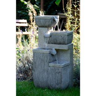 Dobar 96130e Design-Gartenbrunnen mit 4 Stufen - Bild 1