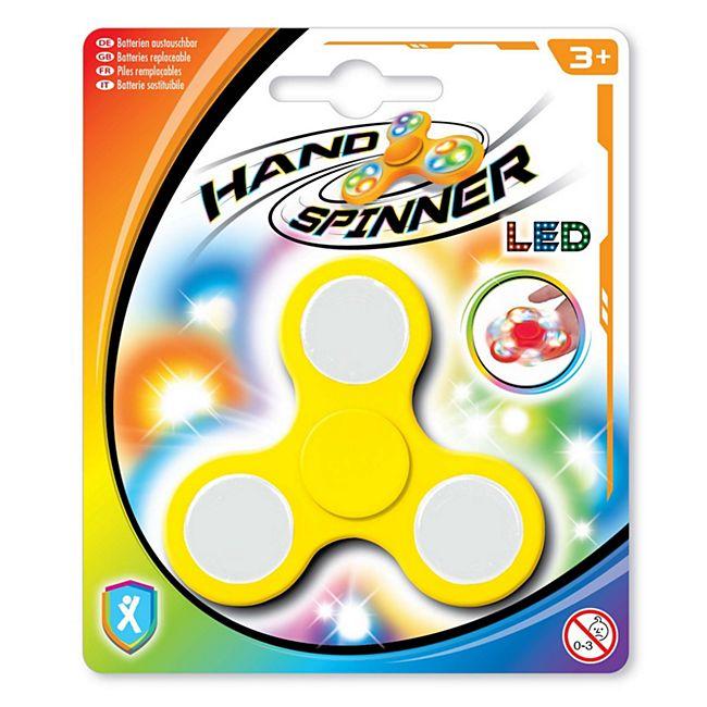 LED Handspinner gelb - Bild 1