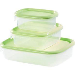 Kitchen Club Frischhaltedosen 3-teilig hellgrün - Bild 1
