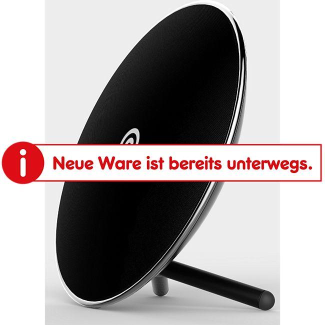 NINETEC Luna Wireless Home Bluetooth NFC Lautsprecher Schwarz - Bild 1