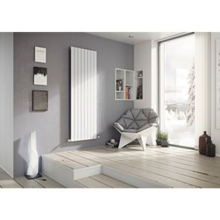 Ximax P1 Vertikale Paneelprofile Designheizkörper B 29,5 x H 180 x T 6,5 cm weiß - Bild 1