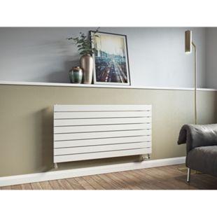 Ximax P1 Horizontale Paneelprofile Designheizkörper B 120 x H 52 x T 6,5 cm weiß - Bild 1