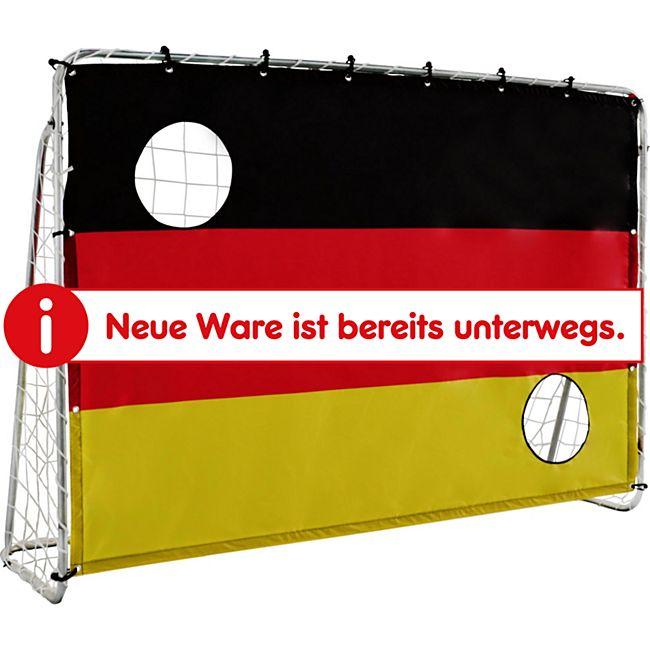 "Solex Sports Fußballtor 213 x 152 x 76 cm mit Torwand ""Germany"" - Bild 1"