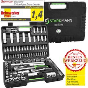 Starkmann Blackline Premium Ratschenkasten, 108-tlg. - Bild 1