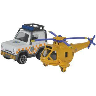 Feuerwehrmann Sam Fahrzeug, 2er - Mountain-Wallaby gelb - Bild 1