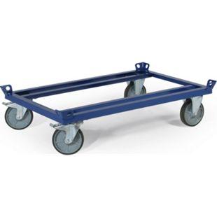 Rotauro Paletten-Fahrgestell, 121x101cm, 600kg Traglast - Bild 1