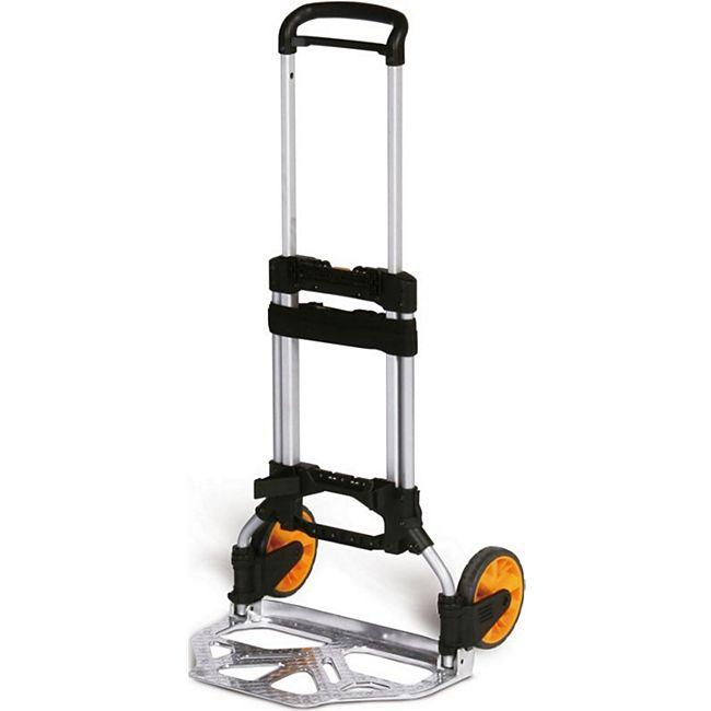 Protaurus LiZZy-cart Aluminium-Stapelkarre, 150kg Traglast, ohne Zubehör - Bild 1