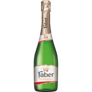 Faber Sekt halbtrocken 11,0 % vol 0,75 Liter - Bild 1
