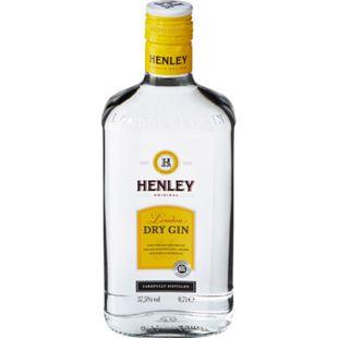 Henley Dry Gin 37,5 % vol 0,7 Liter - Bild 1