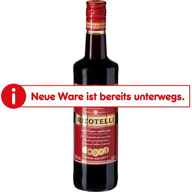 Rizotelli Amaro Kräuterlikör 30,0 % vol 0,7 Liter - Bild 1
