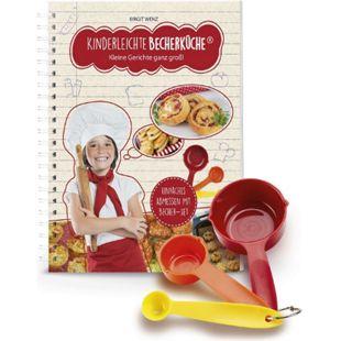 Backhilfe Kinderleichte Becherküche 4-tlg. Set herzhafte Rezepte - Bild 1