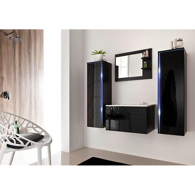 Home Deluxe Sylt Badmöbel-Set, schwarz online kaufen | Netto