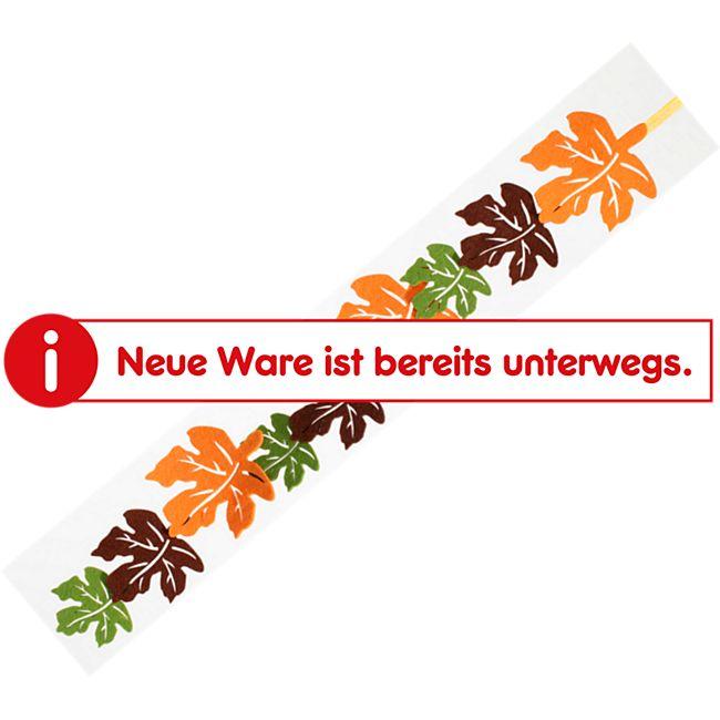 Herbst Sortiment - Filz Herbstblattgirlande - Bild 1