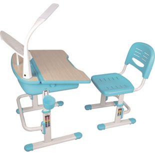 Vipack Comfortline Kinderschreibtisch 301 inkl. Stuhl, blau höhenverstellbar - Bild 1