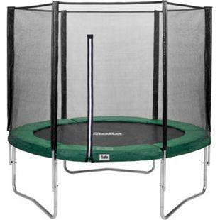 Salta Trampoline - Combo Set - Ø183cm - Trampoline mit Sicherheitsnetz - Schutzrand Farbe: grün - Bild 1