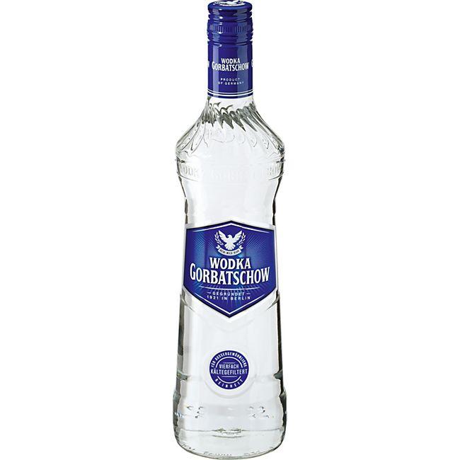Wodka Gorbatschow 37,5 % vol 0,7 Liter - Bild 1