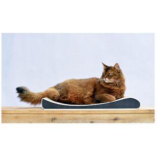 Cat-On Kratzpappe Low Lounger M schwarz weiß - Bild 1
