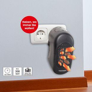 EASYmaxx Mini-Heizung 300W schwarz - Bild 1