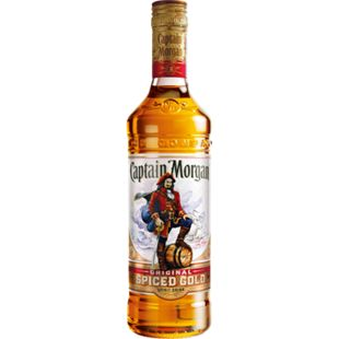 Captain Morgan Spiced Gold 35,0 % vol 0,7 Liter - Bild 1