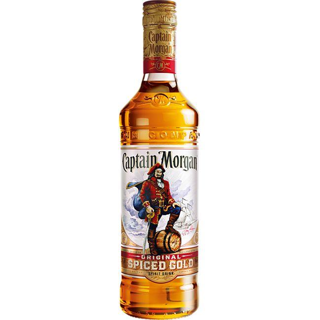 Captain Morgan Spiced Gold 35,0 % vol 0,7 Liter - Bild 1