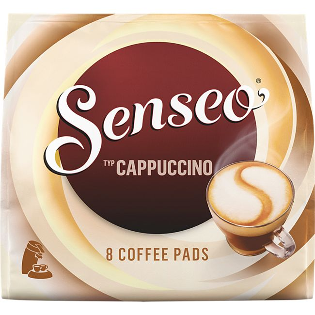 senseo kaffee pads cappuccino 92g online kaufen netto. Black Bedroom Furniture Sets. Home Design Ideas