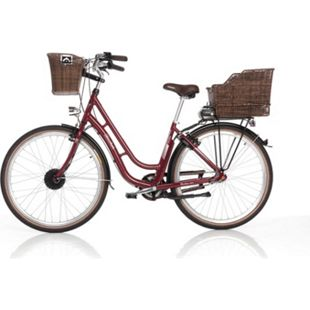 Fischer E-Bike City Retro Damen 28´´ 3-G ER 1804 bordeaux