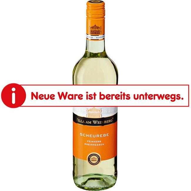 Villa am Weinberg Scheurebe Qualitätswein Reinhessen feinherb 11,0 % vol 0,75 Liter - Bild 1