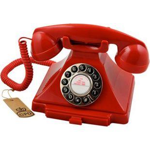 GPO Klassik Bakelit Telefon im 20er Jahre Design - rot - Bild 1