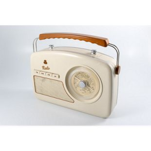 GPO Trendy Radio im 50er Jahre Design - creme - Bild 1