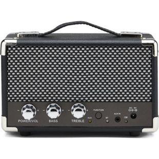 GPO Komfort Retro-Bluetooth Lautsprecher - schwarz - Bild 1