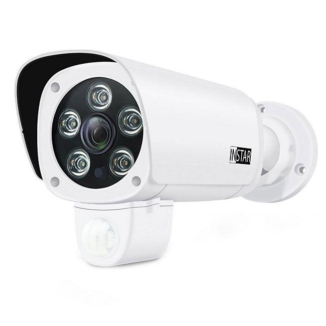 Instar IN-9008 1080p Full HD Aussenkamera mit integriertem PIR-Sensor - weiß - Bild 1