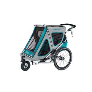 Qeridoo Speedkid2 Kindersportwagen aquamarin - Bild 1