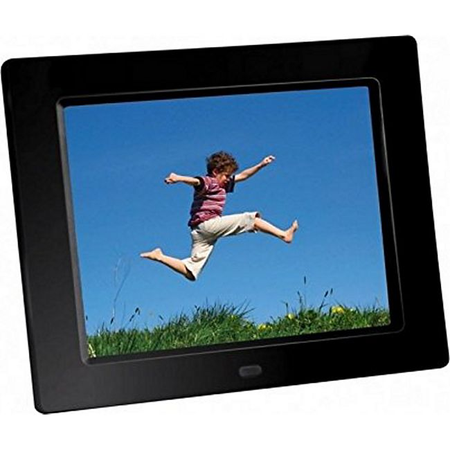 "BRAUN DigiFrame 855 schwarz (8"" LCD+LED. 1024x768, 4:3) - Bild 1"