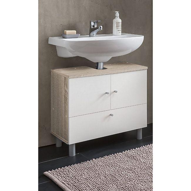 Waschbecken Unterschrank 2-trg. und 1 Klappe - Bild 1