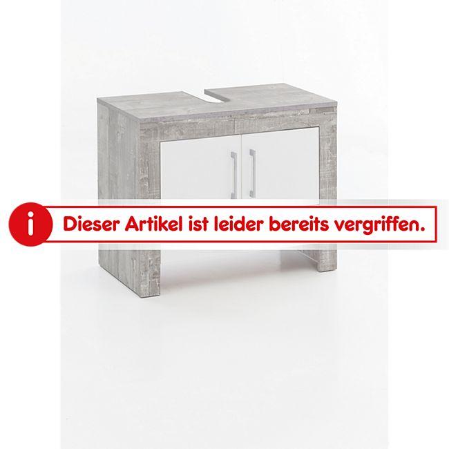 Waschbecken Unterschrank 2 Türen und 1 Schublade Bad Zingst online ...