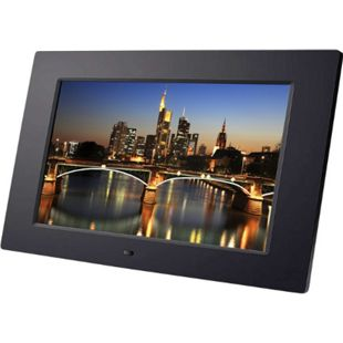 "BRAUN DigiFrame 1060+4 GB, schwarz (10.1""LCD+LED, 1024x600, 16:9, +Video+MP3) - Bild 1"