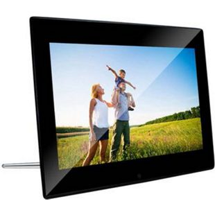 "BRAUN DigiFrame 1220, Acryl schwarz (12.1""LCD+LED, 800x600,4:3,+4GB+Video+MP3) - Bild 1"